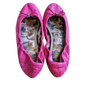 Sam Edelman hot pink ballet flats 9